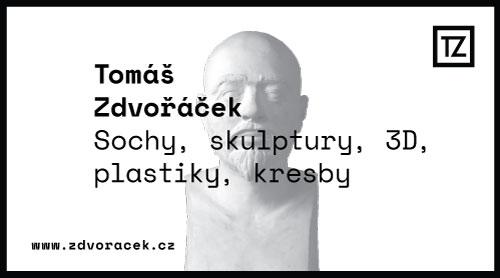 Navštivte moji osobní galerii soch, kreseb a dalších děl na webu Tomáš Zdvořáček - www.zdvoracek.cz